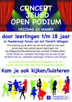 Open Podium @ Fioretti College | Hillegom | Zuid-Holland | Nederland