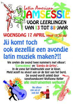 Latin American Jamsessie @ Hillegomse muziekschool | Hillegom | Zuid-Holland | Nederland