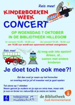 """Kinderboekenweek concert """"Reis mee"""""""
